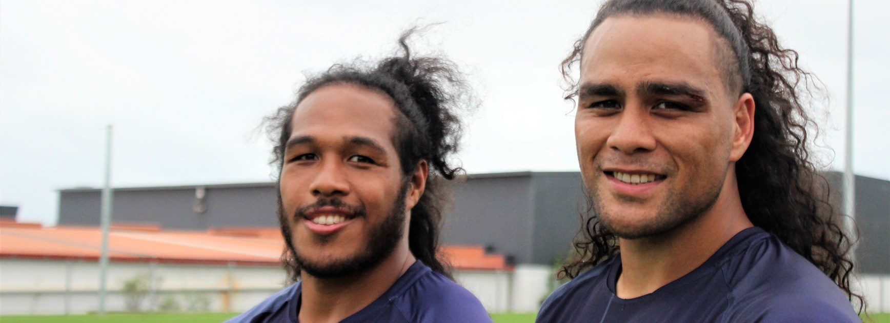 Paasi and Pulu reunite as Hair Bears at Warriors