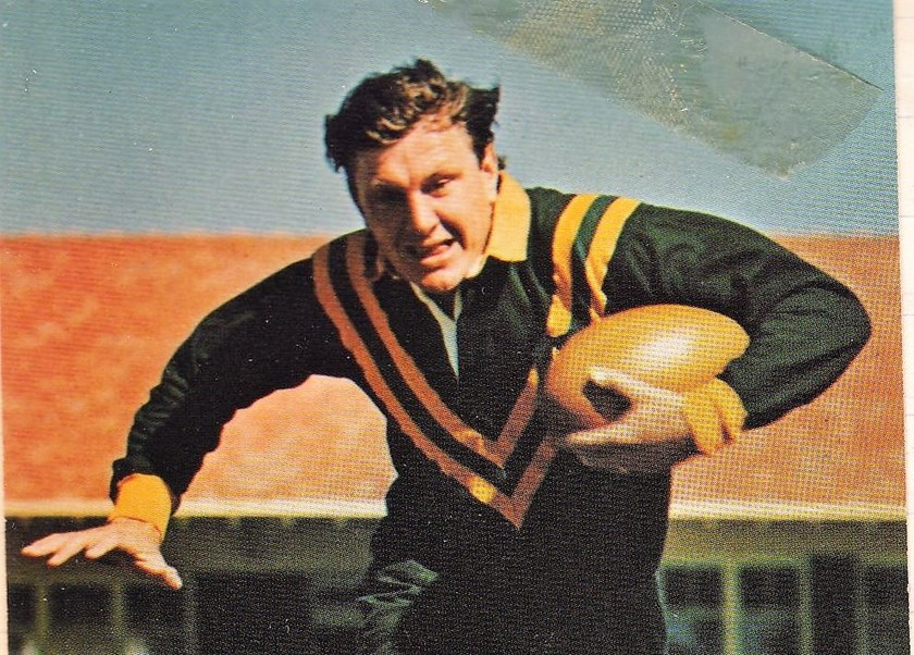 Rugby league great Ron Coote.