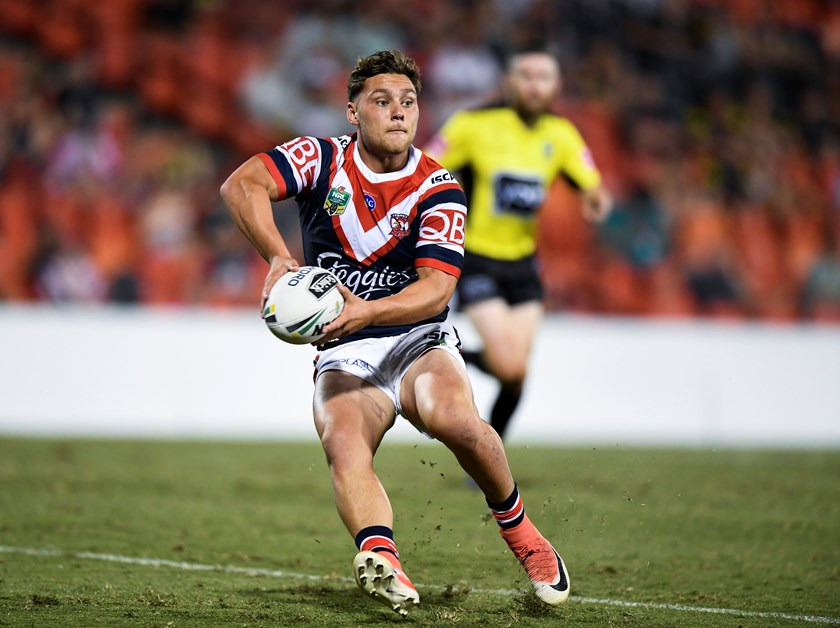 Sydney Roosters five-eighth Lachlan Lam.