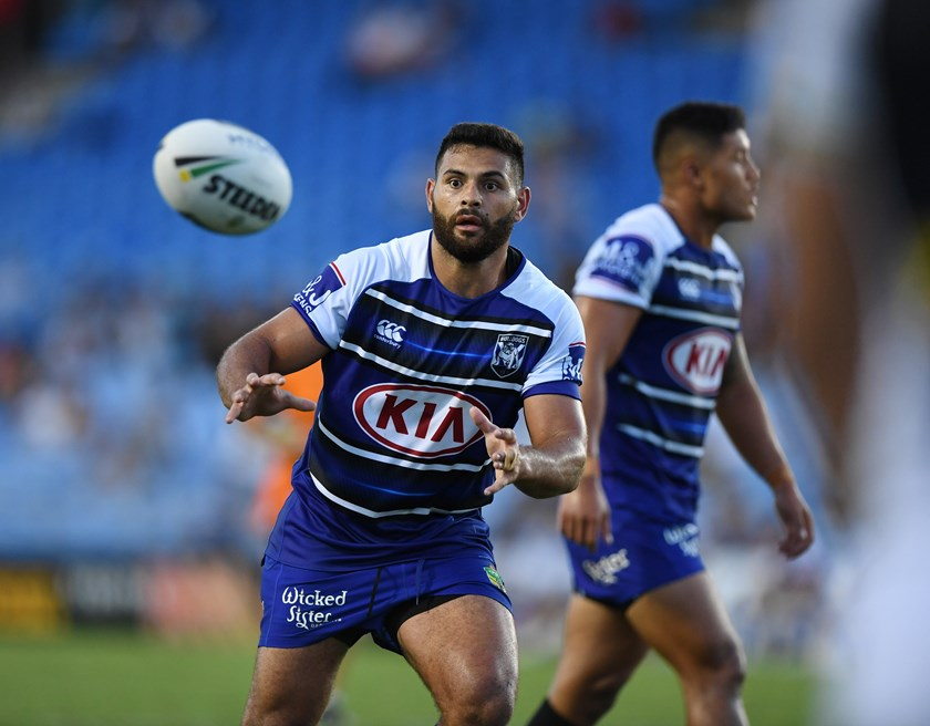 Canterbury Bulldogs back-rower Rhyse Martin.