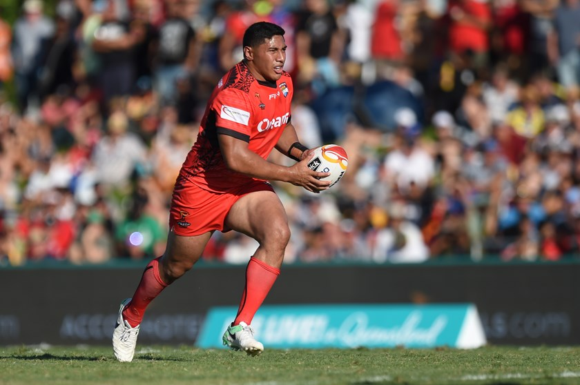 Tongan forward Jason Taumalolo.
