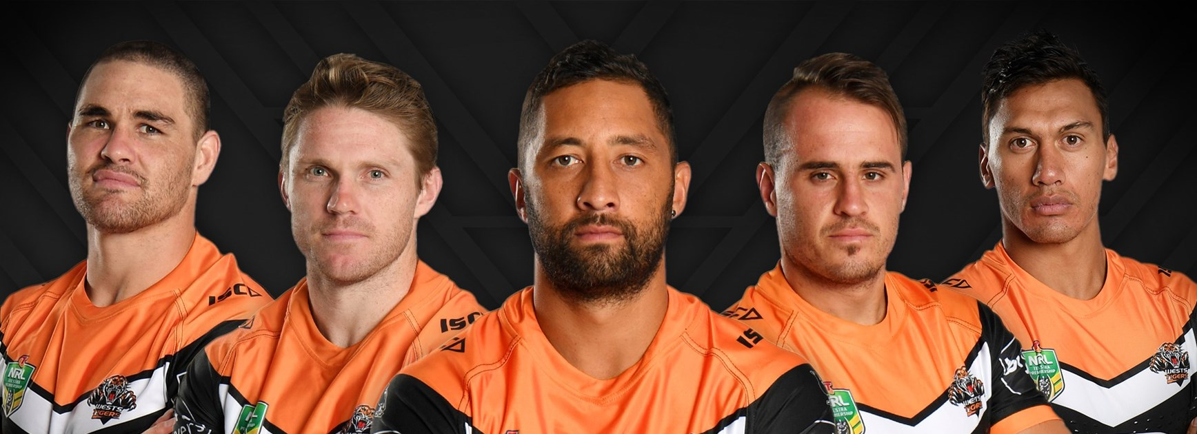 Wests Tigers name five co-captains for 2018