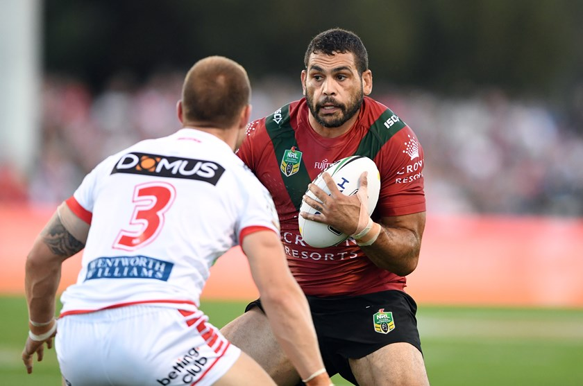 South Sydney star Greg Inglis.