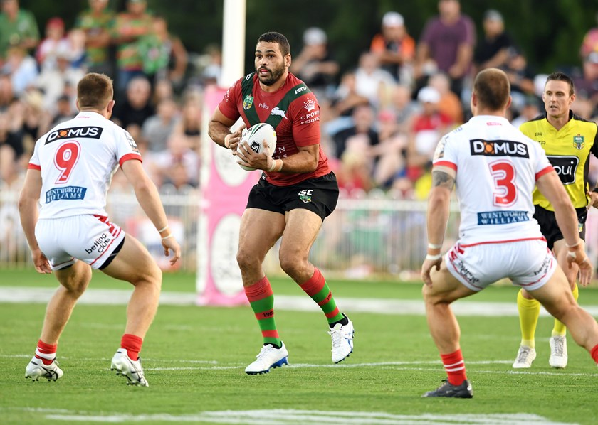 Rabbitohs centre Greg Inglis.