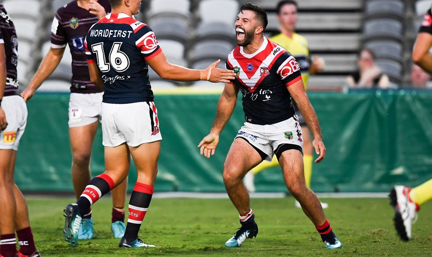 Roosters fullback James Tedesco.