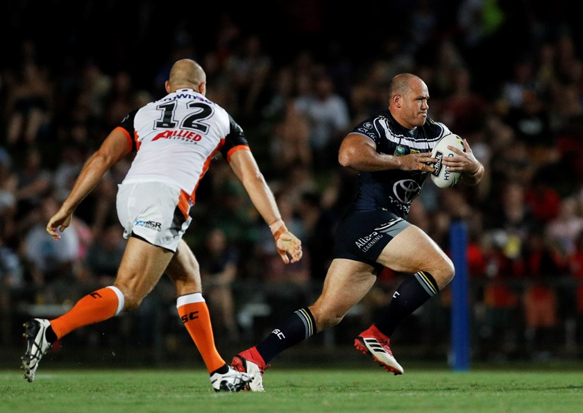 Cowboys prop Matt Scott.