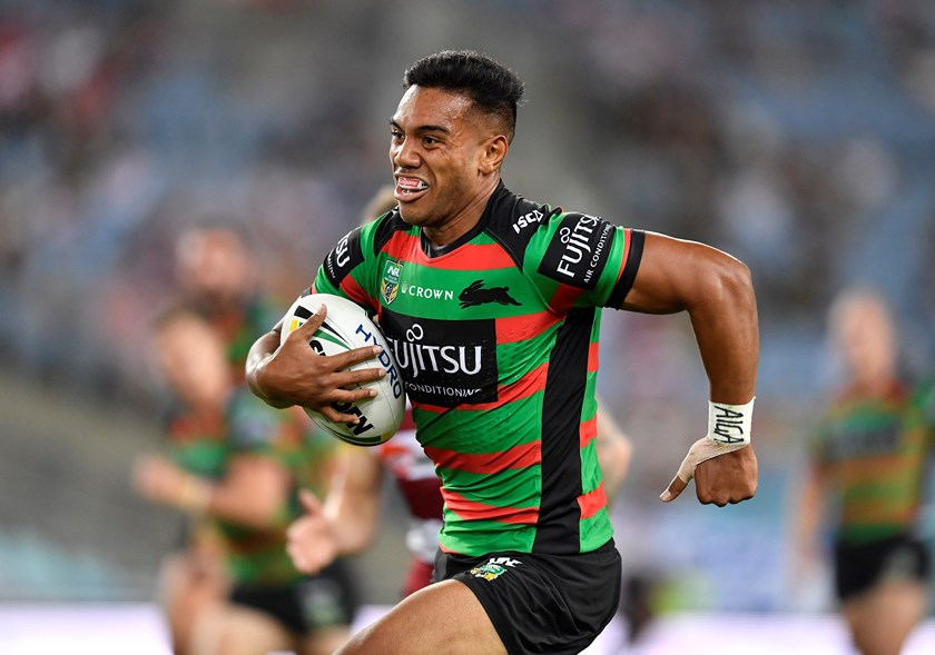 Rabbitohs centre Hymel Hunt.