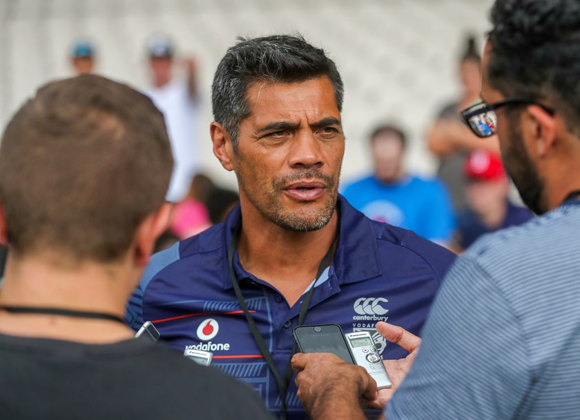 Warriors coach Stephen Kearney.