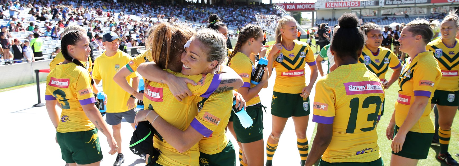 Ferguson looks to new career after retiring from Jillaroos