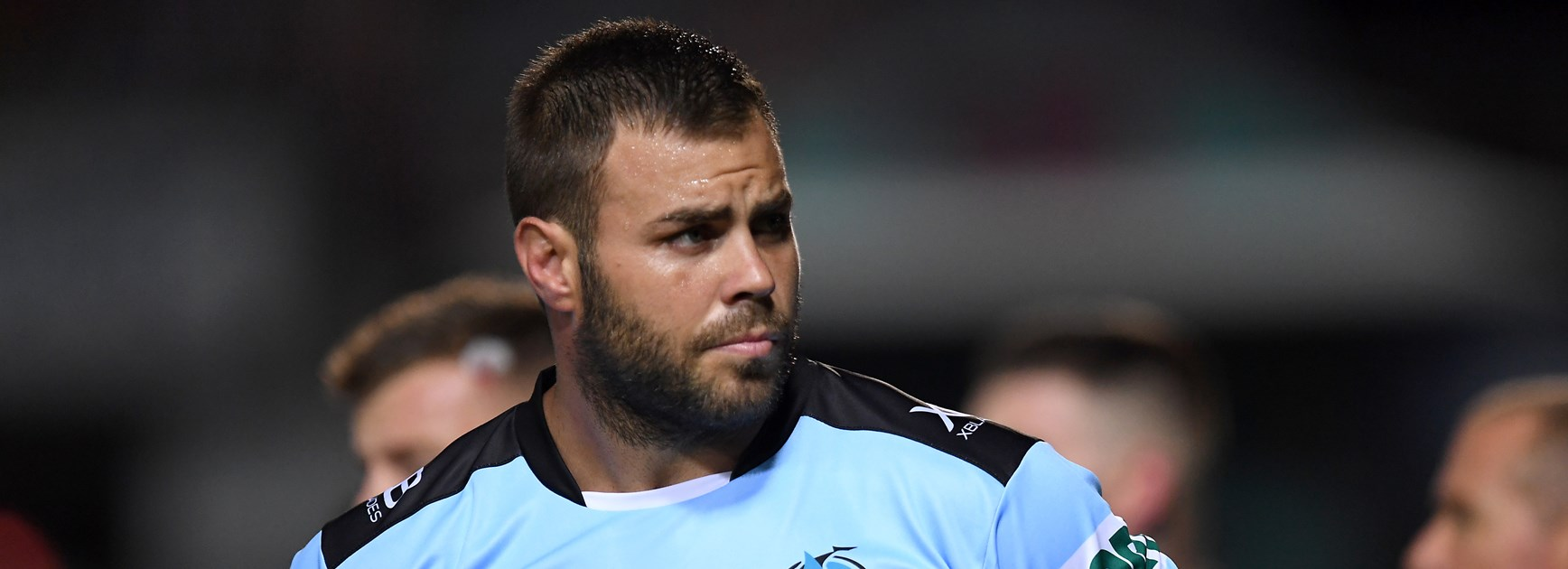 Cronulla Sharks back-rower Wade Graham.