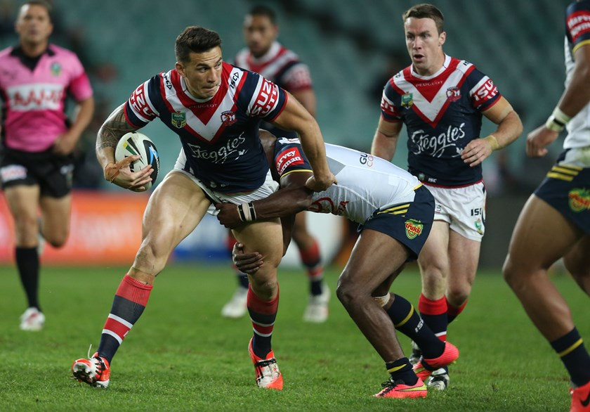 Former Roosters forward Sonny Bill Williams.