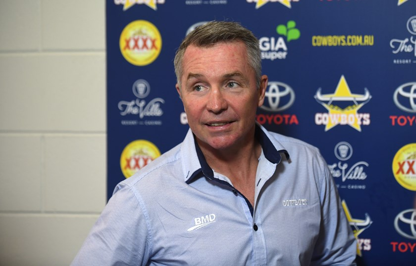 North Queensland Cowboys coach Paul Green.