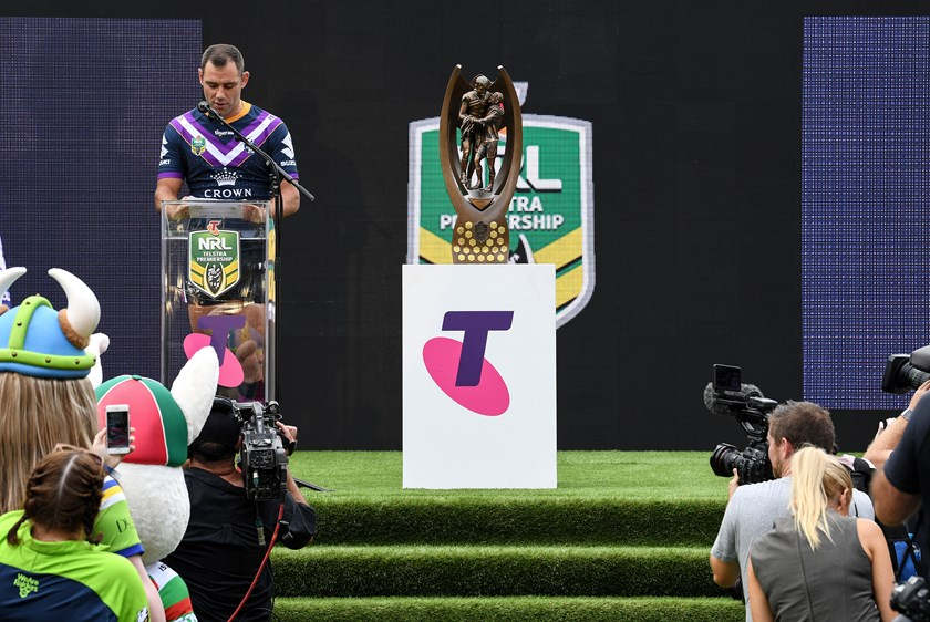 Melbourne Storm captain Cameron Smith.