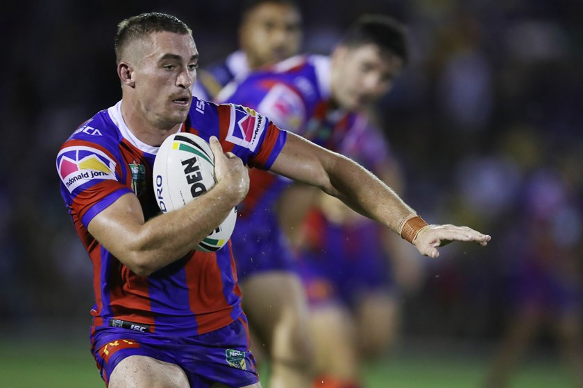 Newcastle Knights utility Connor Watson.