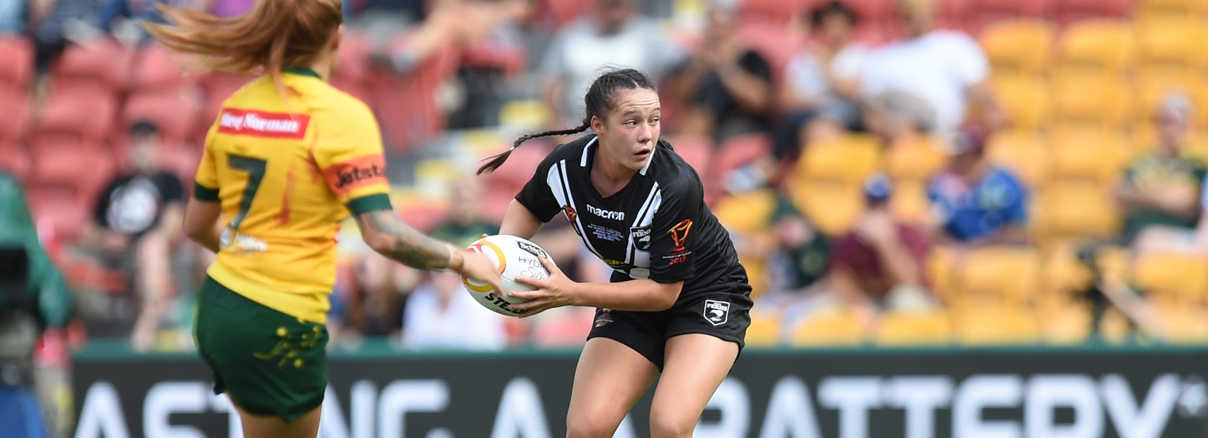 Kiwi Ferns playmaker Raecene McGregor.