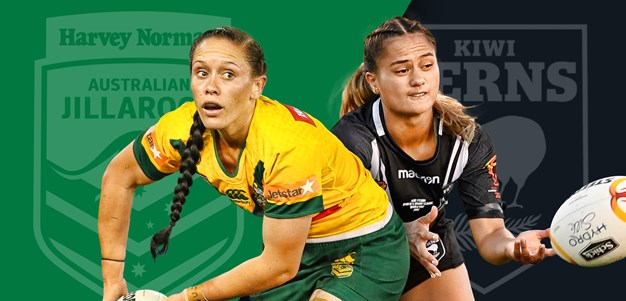 Kiwi Ferns v Jillaroos preview