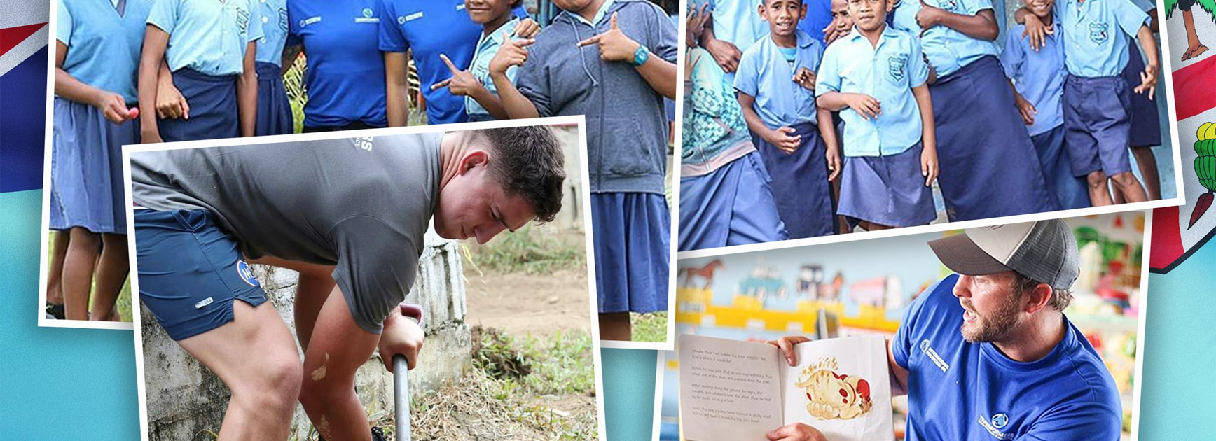 Players make a difference in 'once-in-a-lifetime' Fiji trip