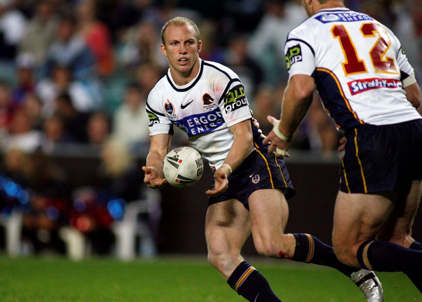 Broncos star Darren Lockyer.