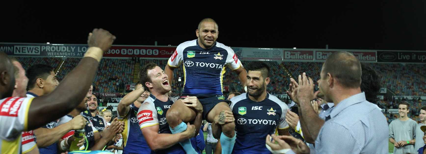 JT to break a great mate's Cowboys record