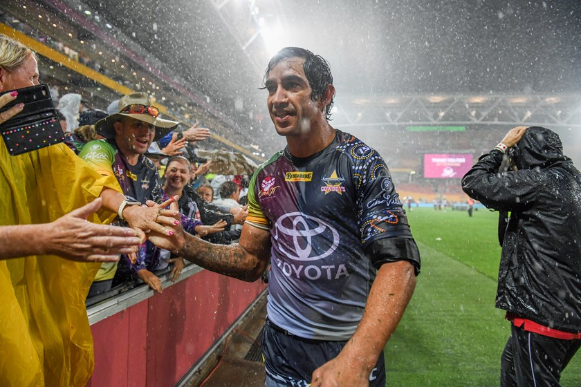 Cowboys star Johnathan Thurston.