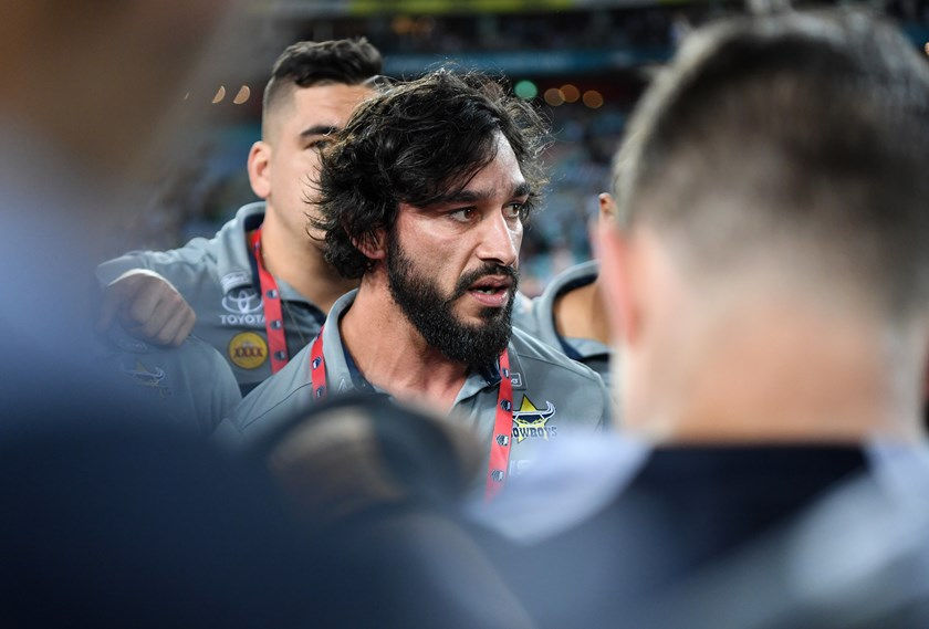 Cowboys legend Johnathan Thurston.