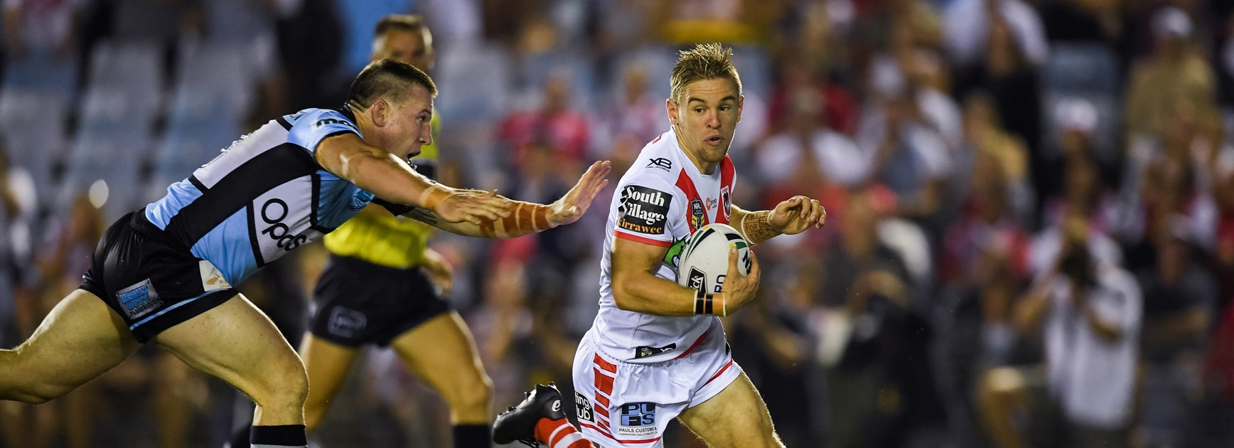 Dragons fullback Matt Dufty.