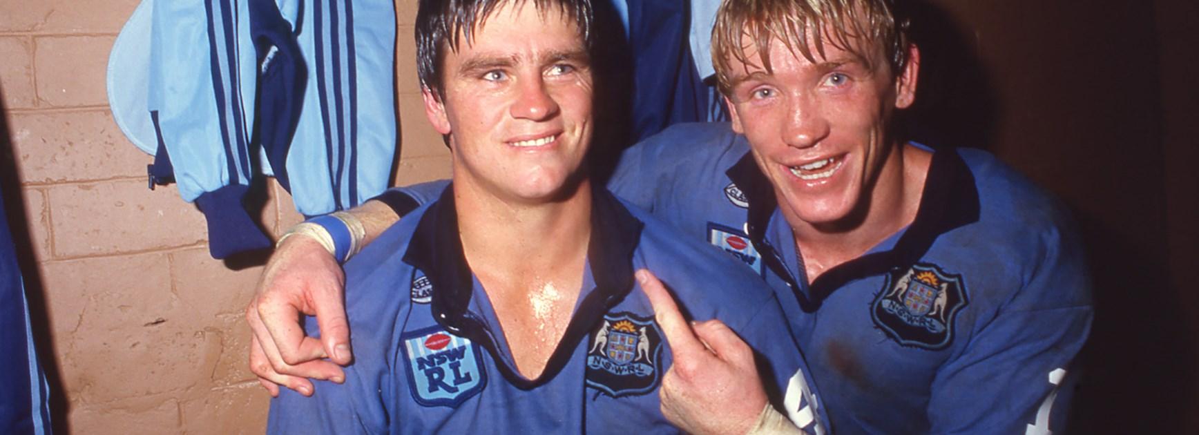 Chris Mortimer and Garry Jack.