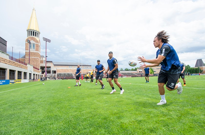 The New Zealand team trains in Denver at the University of Colorado.