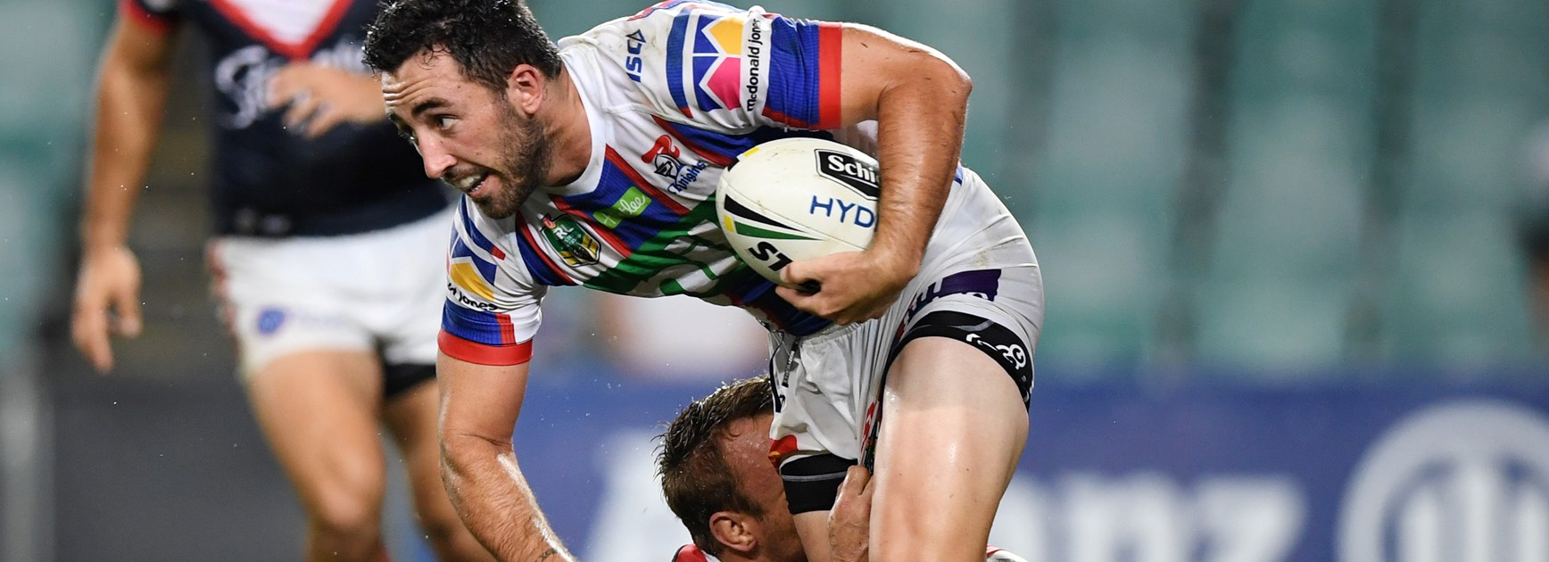 Newcastle Knights five-eighth Brock Lamb.