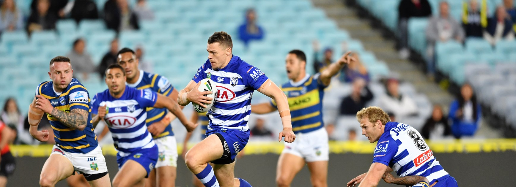 Best attacking centres of 2018: Bulldog edges out Roosters, Raiders stars