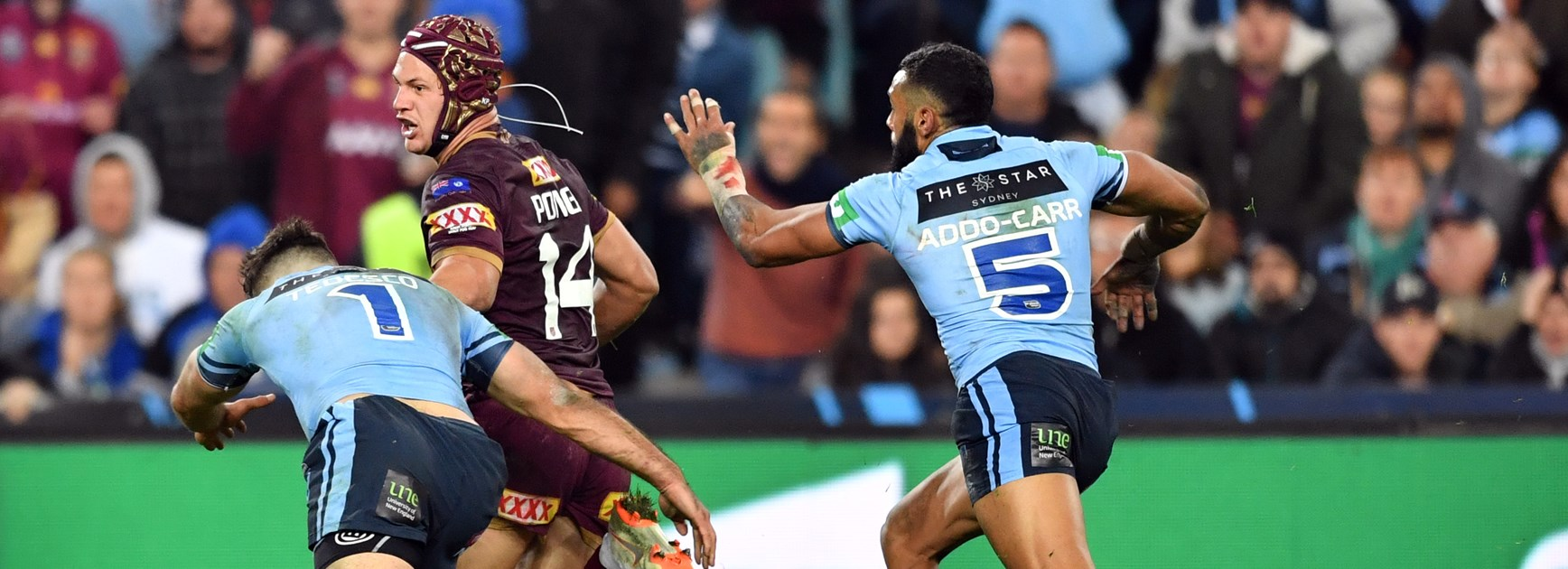 Tedesco pips Addo-Carr to be fastest man in Origin II
