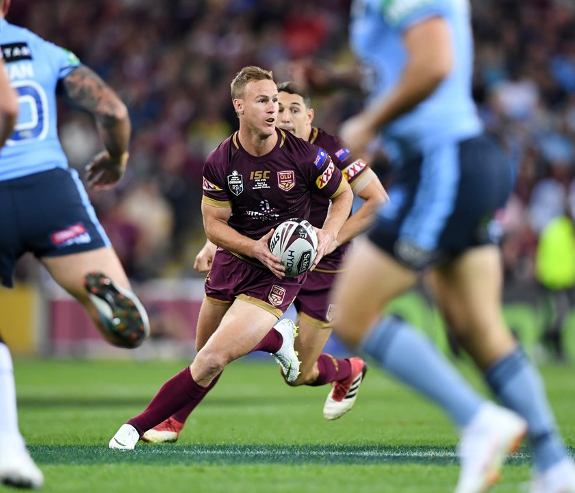 Queensland No.7 Daly Cherry-Evans.