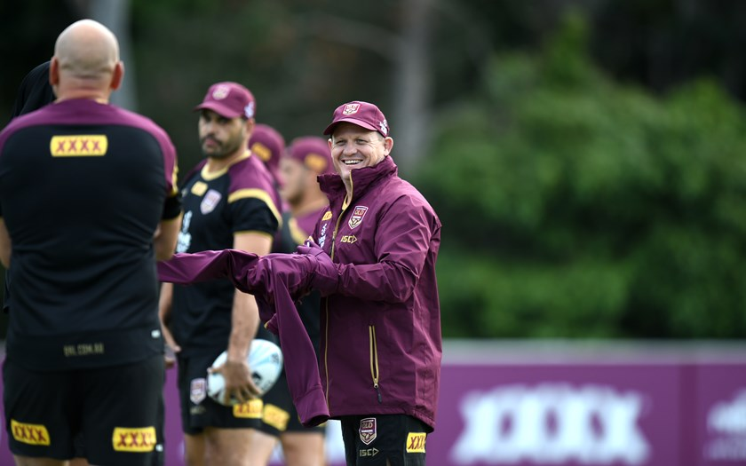 Queensland coach Kevin Walters.