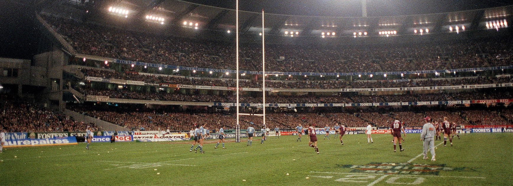 How State of Origin won over the MCG in 1994