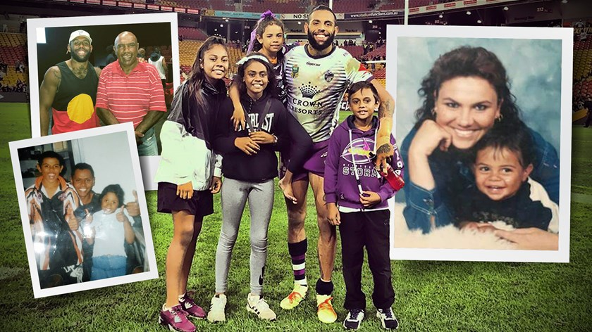 Family is the centre of Josh Addo-Carr's world.
