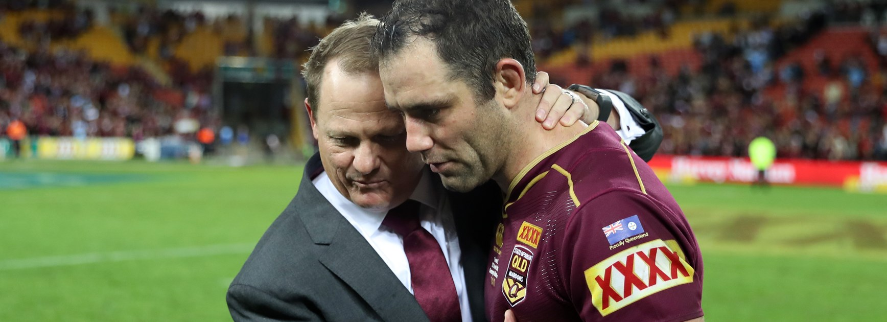 Tributes flow for Maroons 'benchmark' Smith