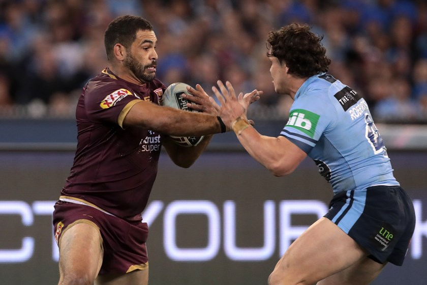 Queensland centre Greg Inglis.