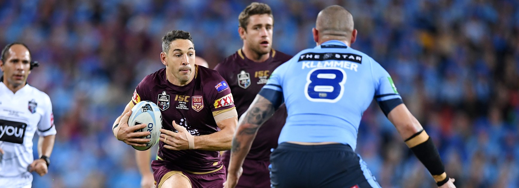 Queensland fullback Billy Slater.