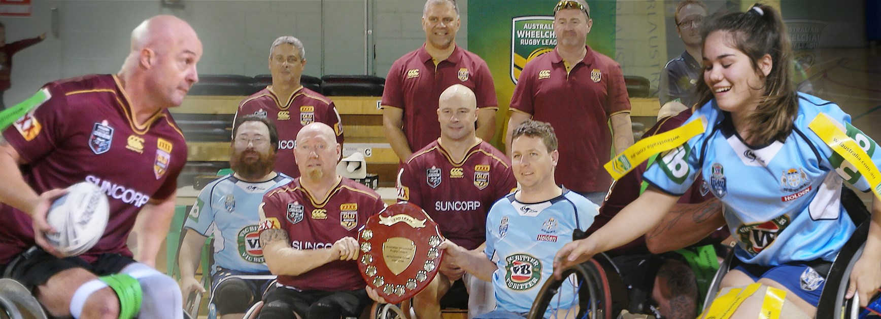Wheelchair warriors provide State of Origin curtain raiser
