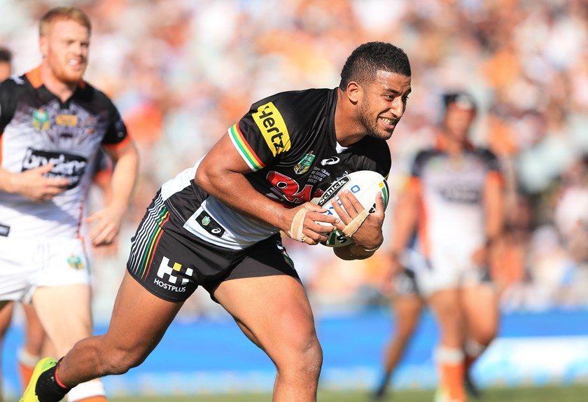 Panthers forward Viliame Kikau.