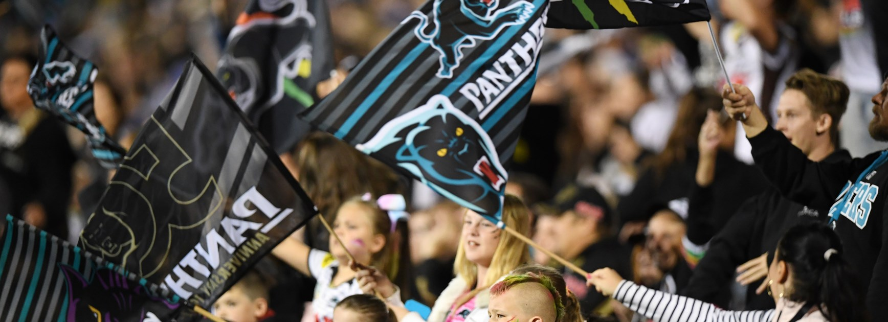 Penrith Panthers fans.