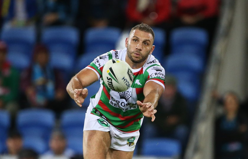 Robbie Farah playing for South Sydney in 2018.
