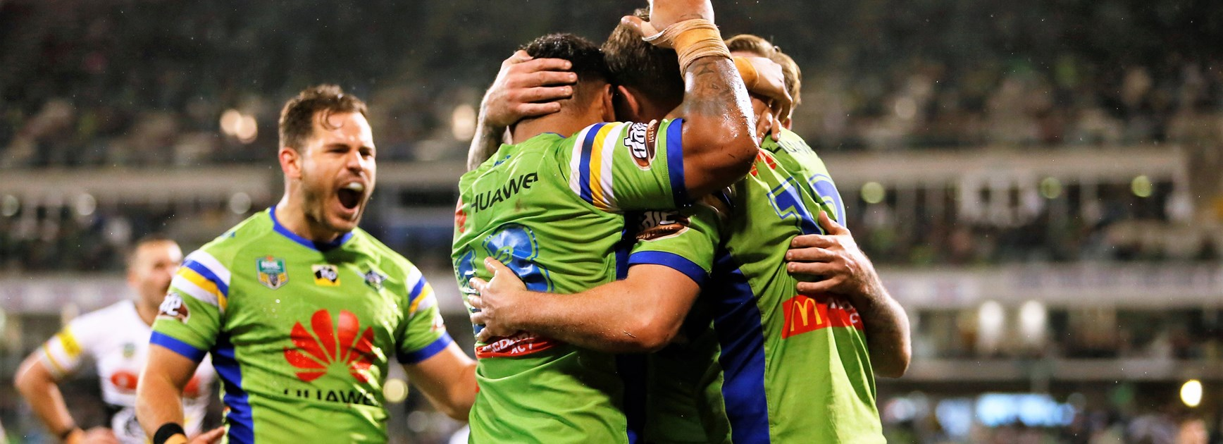 The Canberra Raiders.