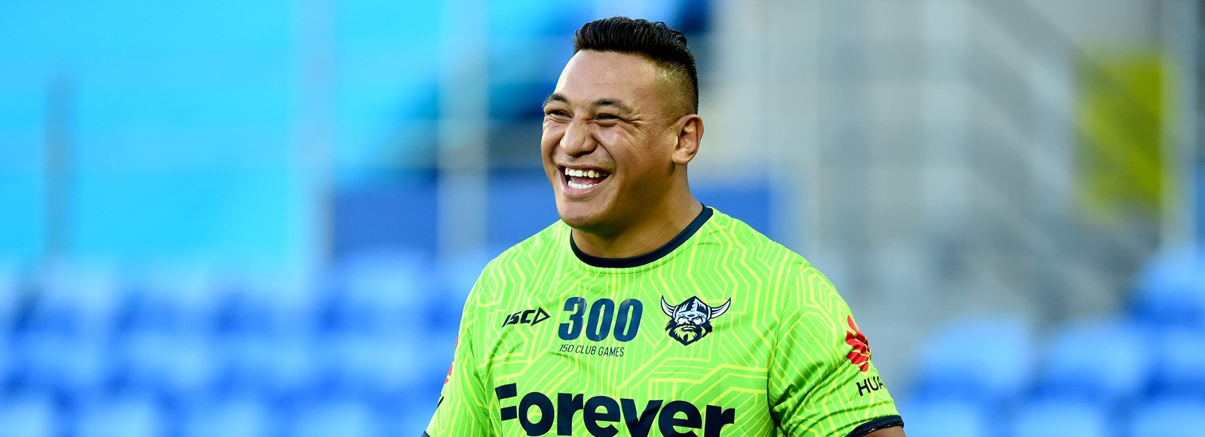 Raiders back-rower Josh Papalii.
