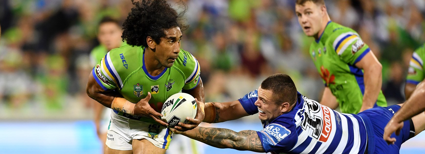 Raiders forward Sia Soliola.