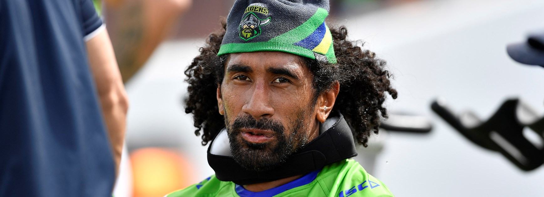 Family man Soliola happy to be Canberra pack's father figure