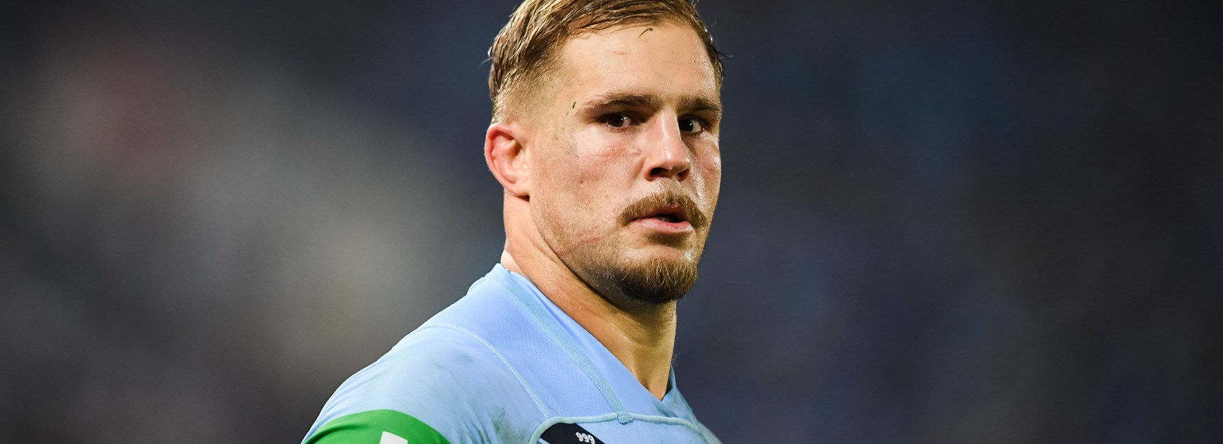 Jack de Belin playing for NSW.