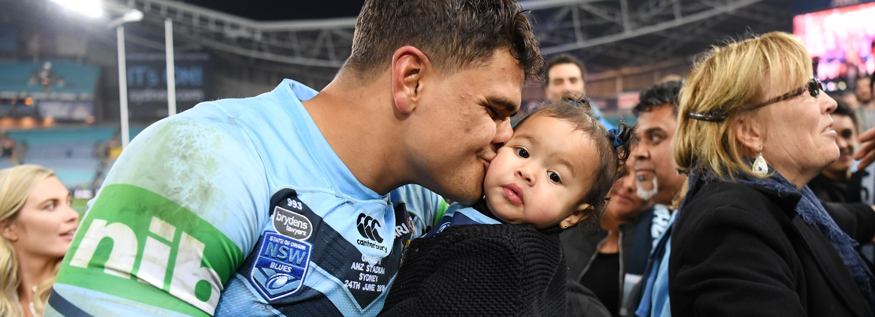 NSW centre Latrell Mitchell.