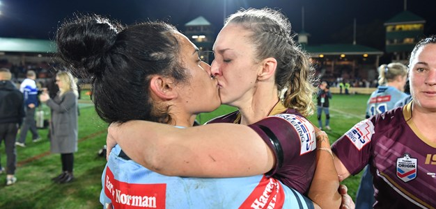 NRLW stars Brown and Foliaki win LGBTI award