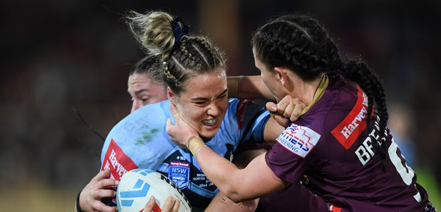 Kelly the hero as NSW beat Queensland in Women's Origin